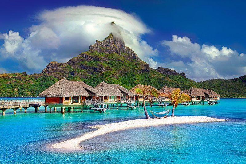 Bora Bora Island Caribbean Tahiti Polynesia - Photo Julius_Silver This file is from Pixabay, where the creator has released it explicitly under the license Creative Commons Zero